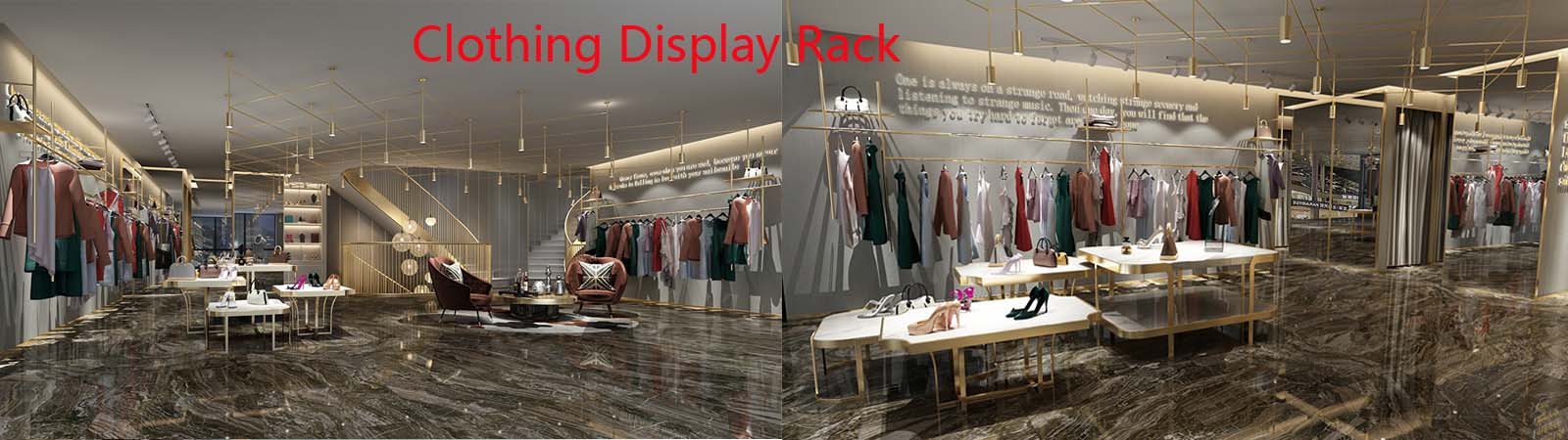 Clothing display rack professional manufacturer