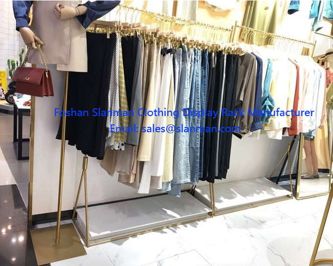 Retail Shop Design Clothing Store Display Showcase and Retail Store Fixtures for Sale