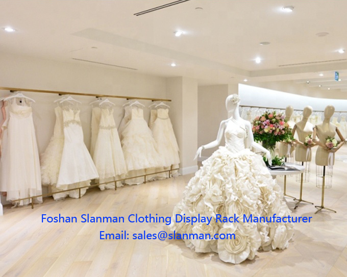 Foshan Manufacturer Creative Customize Display Stand For Wedding Dress