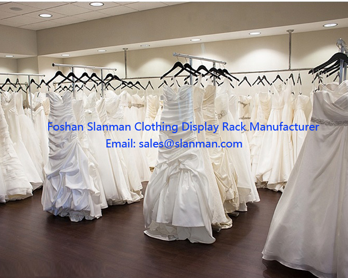 Customize Display Stand For Wedding Dress By Foshan Factory
