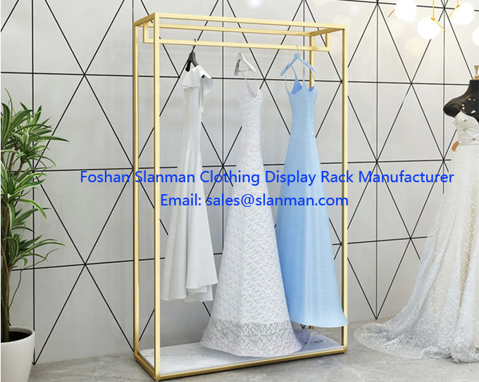 Wedding Dress Shop Interior Design Fashion Wedding Dress Display Rac