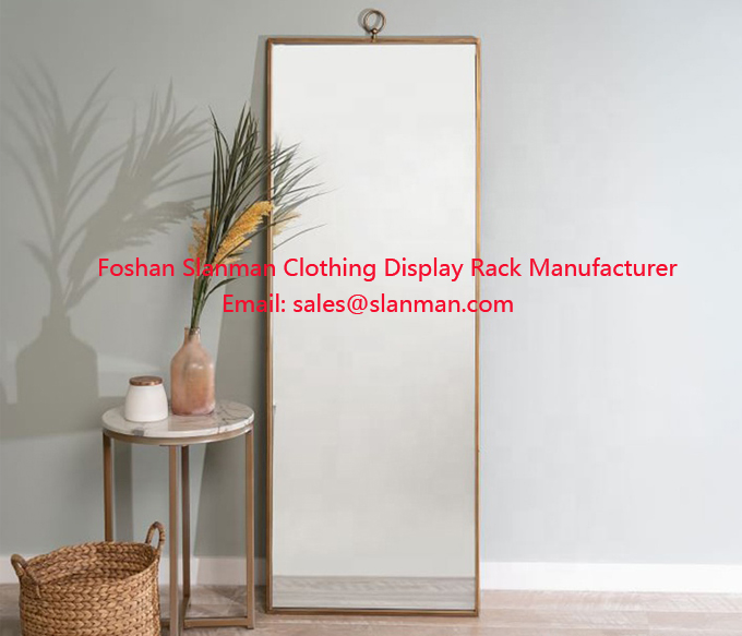 Floor Stand Dressing Mirror Floor Full Length Mirror Frame Bedroom Dressing Mirror